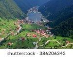 Long Lake  Uzungol  In Trabzon...