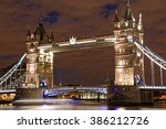 tower bridge   london  uk | Shutterstock . vector #386212726