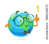 illustration of funny mascot...   Shutterstock .eps vector #386218372