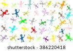 cartoon background for kids | Shutterstock .eps vector #386220418
