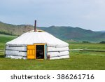 Mongolian Yurt Called A Ger On...