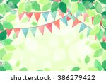 horizontal template with fresh... | Shutterstock .eps vector #386279422