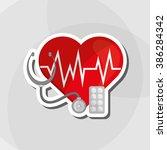 medical care design  | Shutterstock .eps vector #386284342