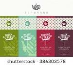 vector set of templates... | Shutterstock .eps vector #386303578