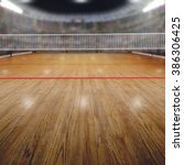 volleyball arena full of fans... | Shutterstock . vector #386306425