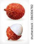 lychee  vector icon