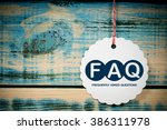 faq   frequently asked questions | Shutterstock . vector #386311978