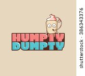Vector Logo Humpty Dumpty In A...