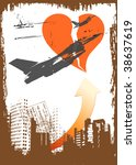 vector grunge poster   Shutterstock .eps vector #38637619