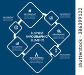 business infographics vector... | Shutterstock .eps vector #386399122