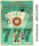 Casino Vintage Grunge Style...