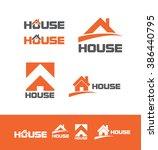 vector company logo icon... | Shutterstock .eps vector #386440795
