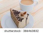 Mocha Cake With Almond And...