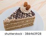 Mocha Cake With Almond    Mocha ...