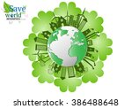 ecology connection concept... | Shutterstock .eps vector #386488648