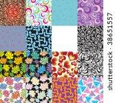 seamless background | Shutterstock .eps vector #38651557