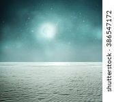 night tropic background in...   Shutterstock . vector #386547172