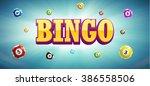 Illustration Of Bingo Lottery...