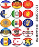 set of icons. flags of the... | Shutterstock .eps vector #386570035