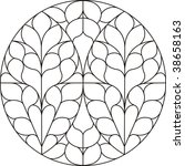 circular window   Shutterstock .eps vector #38658163