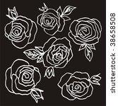 flower | Shutterstock .eps vector #38658508