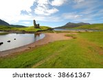 Ardvreck Castle  Loch Assynt In ...