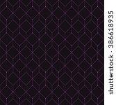 vector seamless pattern. modern ... | Shutterstock .eps vector #386618935