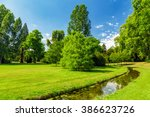 in the park | Shutterstock . vector #386623726