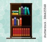 book icon design  | Shutterstock .eps vector #386625568