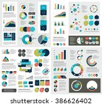 mega set of infographics... | Shutterstock .eps vector #386626402