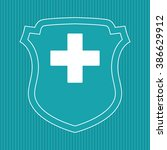 medical care design   Shutterstock .eps vector #386629912