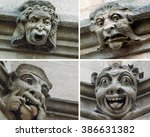 Funny Gargoyle Faces In Oxford...