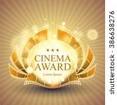 cinema award banner | Shutterstock .eps vector #386638276