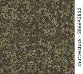 seamless pattern. abstract... | Shutterstock .eps vector #386642812