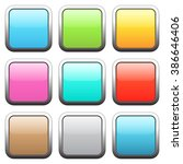 set of square buttons | Shutterstock .eps vector #386646406