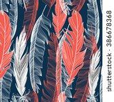 beautiful seamless graphic... | Shutterstock .eps vector #386678368