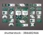 big templates set. business... | Shutterstock .eps vector #386682466