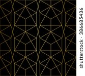 golden texture.seamless... | Shutterstock .eps vector #386685436