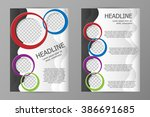 vector flyer template design....   Shutterstock .eps vector #386691685