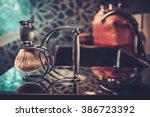 gentleman's accessories in a... | Shutterstock . vector #386723392