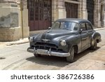 havana  cuba   june 13  2014  a ... | Shutterstock . vector #386726386