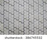 stone sidewalk                 ... | Shutterstock . vector #386745532