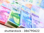 colorful background with swiss... | Shutterstock . vector #386790622