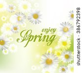 spring beautiful background...   Shutterstock . vector #386792398
