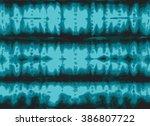 tie dye textile design.... | Shutterstock .eps vector #386807722