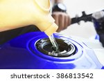 Motorcycle Oil Refill To Tank