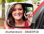 attractive young brunette... | Shutterstock . vector #38683918