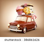 Cute Fantastic Chocolade Car...