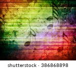 old music sheet | Shutterstock . vector #386868898
