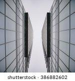 urban geometry  glass building. ...   Shutterstock . vector #386882602